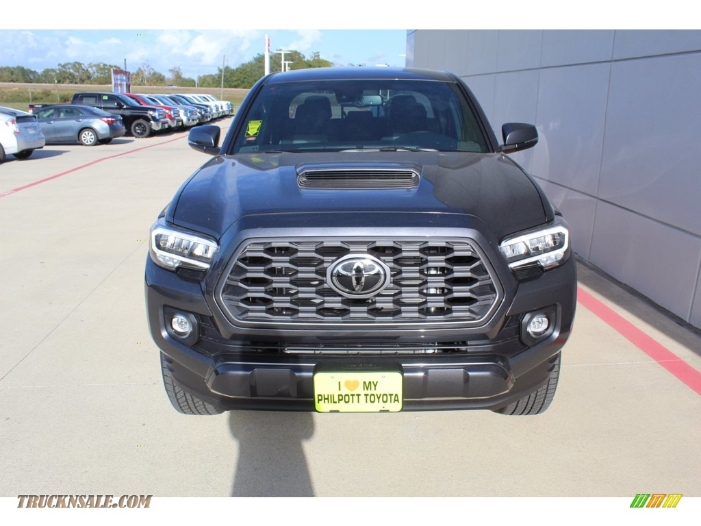 2021 Tacoma TRD Sport Double Cab - Magnetic Gray Metallic / Cement photo #3