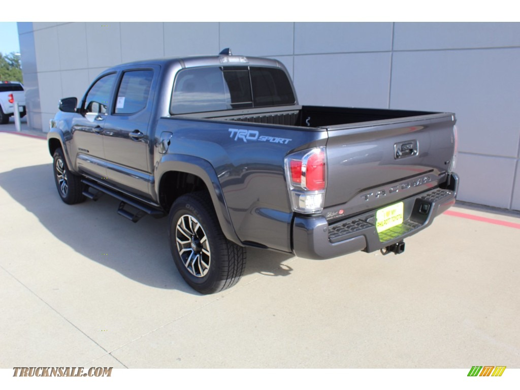 2021 Tacoma TRD Sport Double Cab - Magnetic Gray Metallic / Cement photo #6