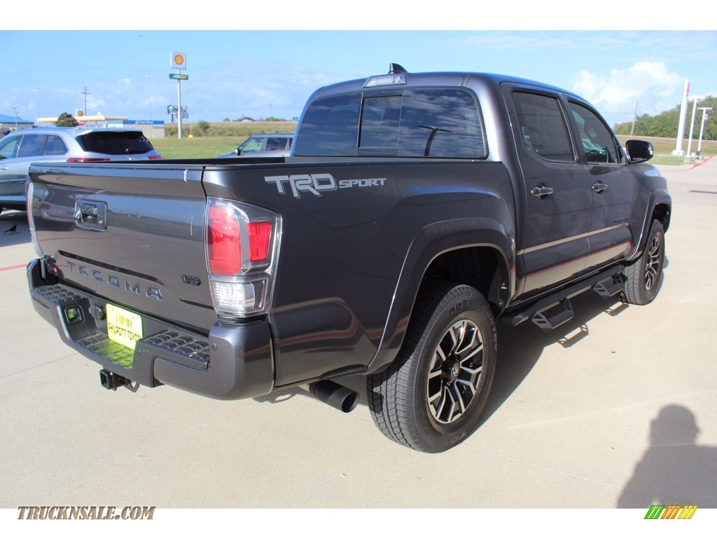 2021 Tacoma TRD Sport Double Cab - Magnetic Gray Metallic / Cement photo #8