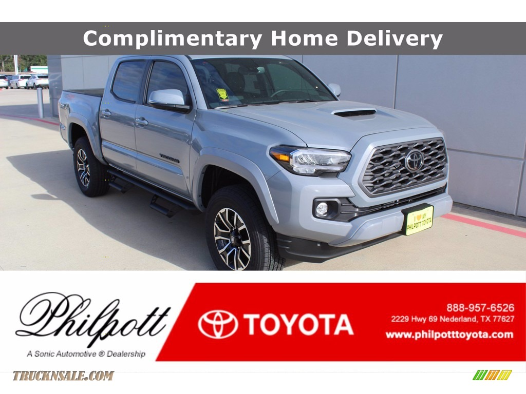 Cement / Black/Gun Metal Toyota Tacoma TRD Sport Double Cab 4x4