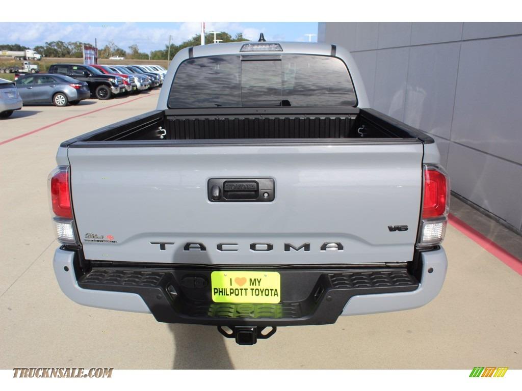2021 Tacoma TRD Sport Double Cab 4x4 - Cement / Black/Gun Metal photo #7