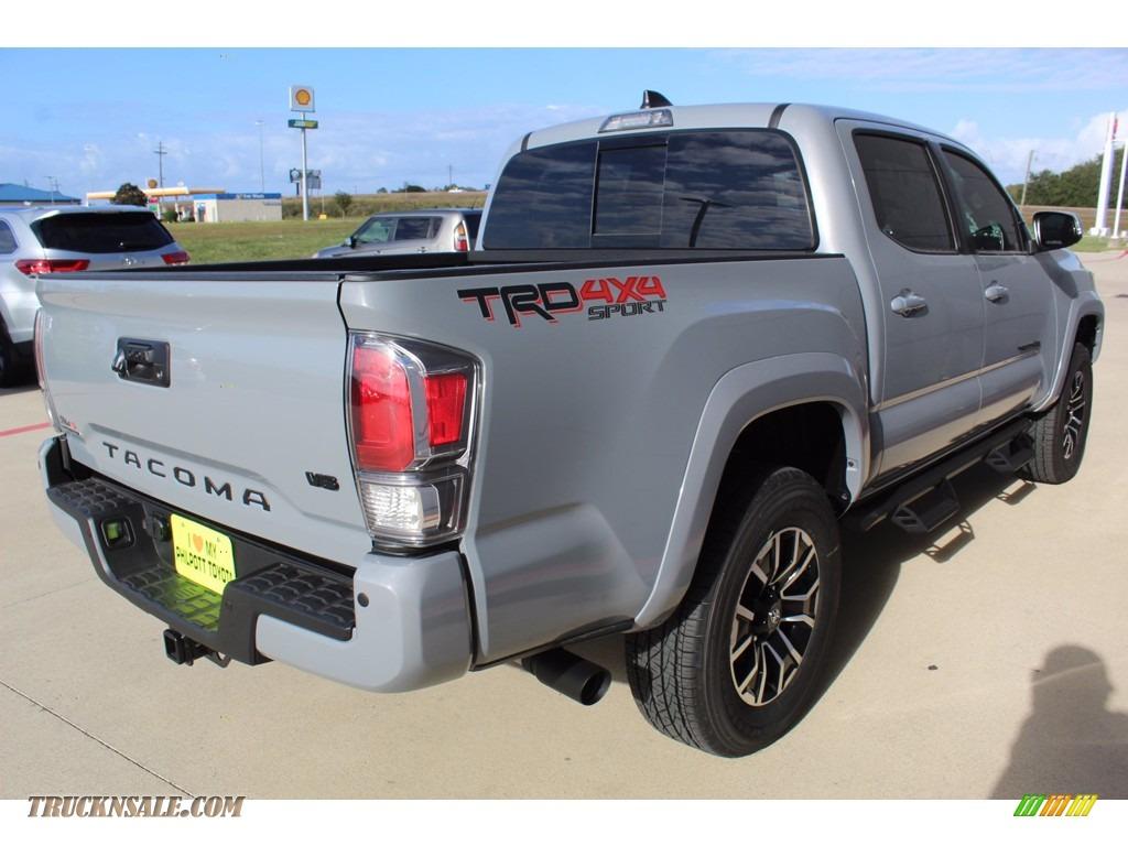 2021 Tacoma TRD Sport Double Cab 4x4 - Cement / Black/Gun Metal photo #8