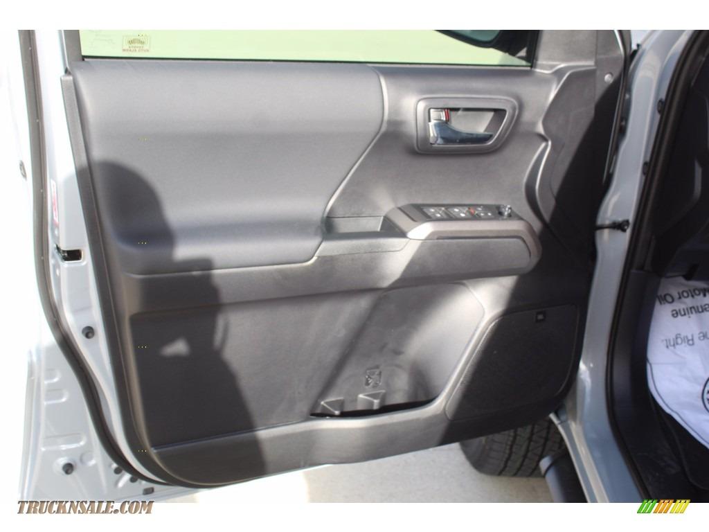 2021 Tacoma TRD Sport Double Cab 4x4 - Cement / Black/Gun Metal photo #9
