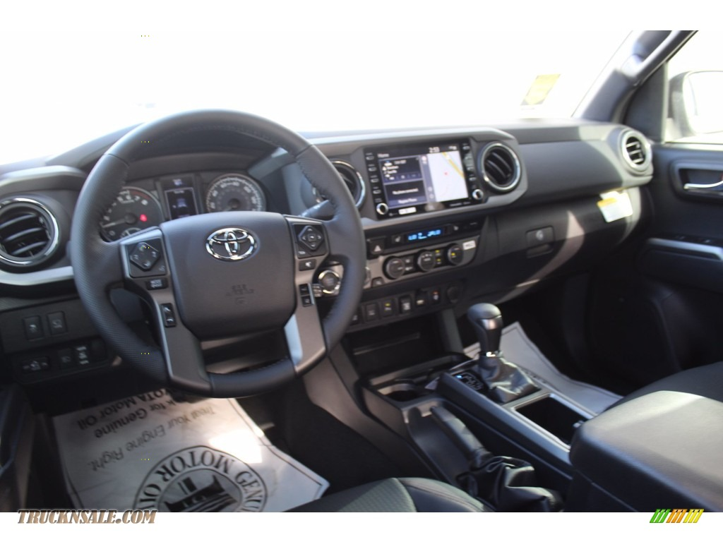 2021 Tacoma TRD Sport Double Cab 4x4 - Cement / Black/Gun Metal photo #21
