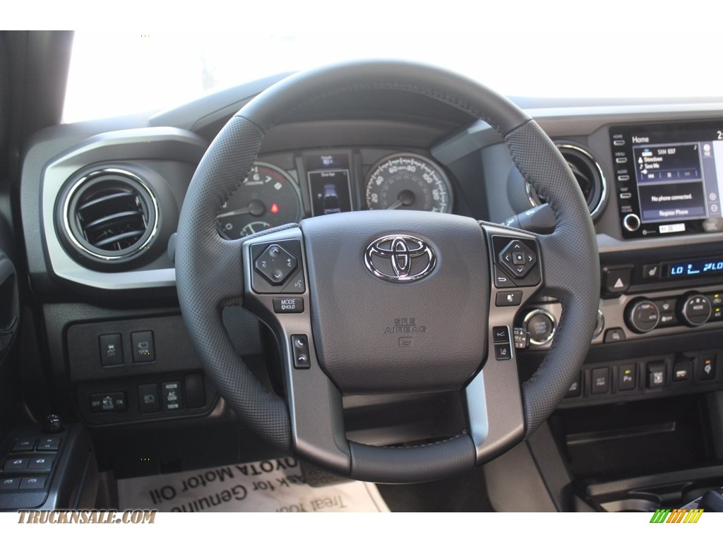2021 Tacoma TRD Sport Double Cab 4x4 - Cement / Black/Gun Metal photo #22