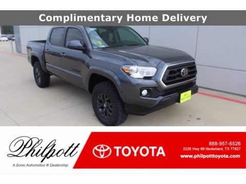 Magnetic Gray Metallic 2021 Toyota Tacoma SR5 Double Cab