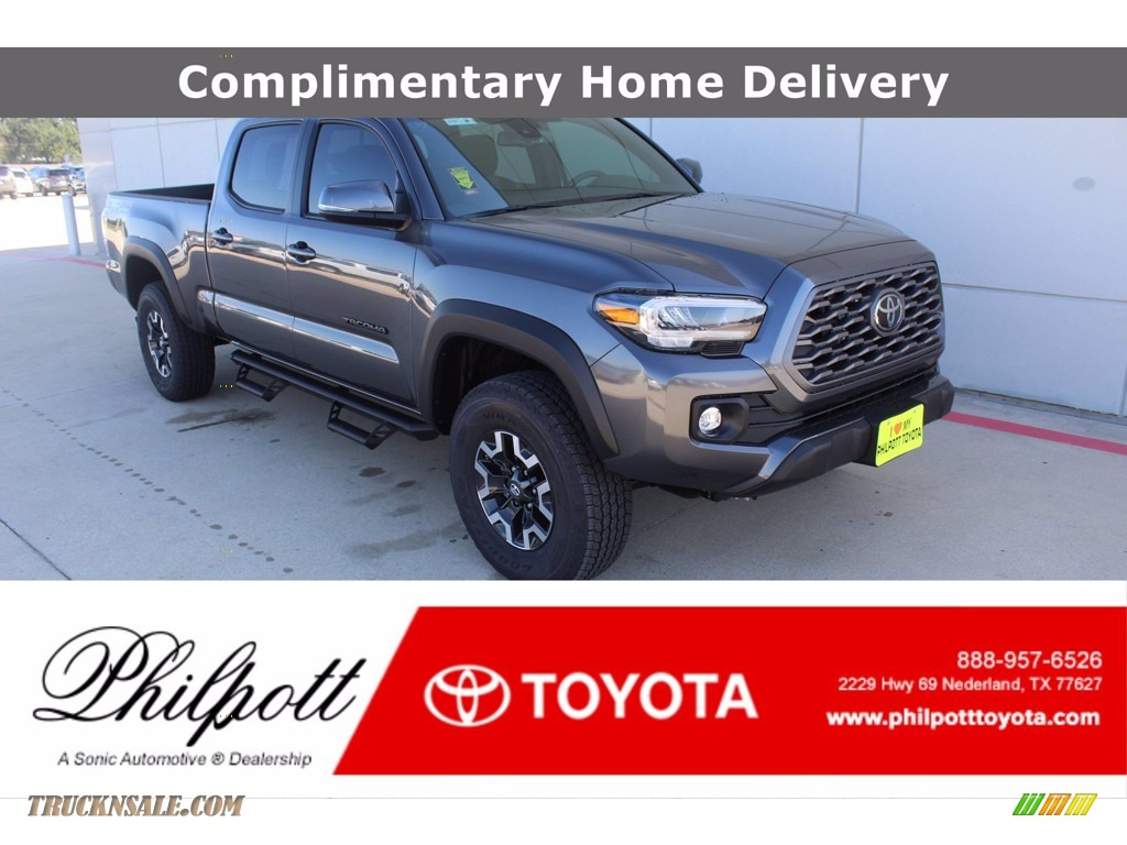 2021 Tacoma TRD Off Road Double Cab 4x4 - Magnetic Gray Metallic / Black/Gun Metal photo #1