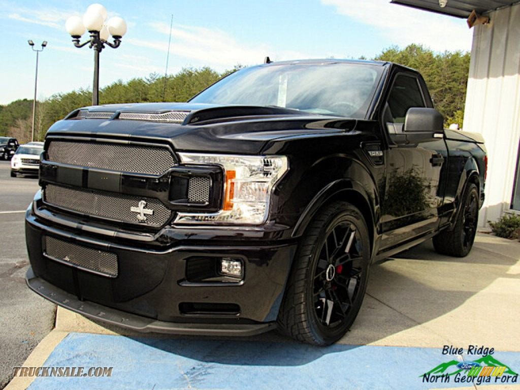 2020 F150 Shelby Super Snake Sport 4x4 - Agate Black / Shelby Two-Tone Suedezkin photo #1