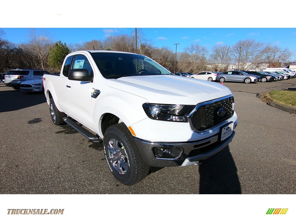 2020 Ranger XLT SuperCab 4x4 - Oxford White / Ebony photo #1