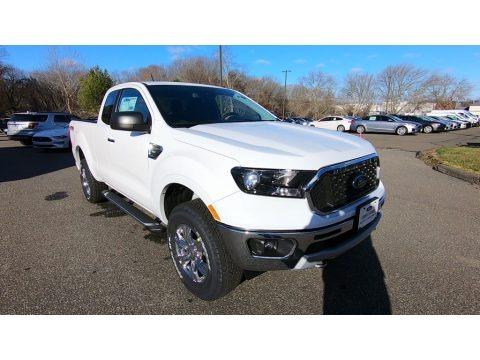 Oxford White 2020 Ford Ranger XLT SuperCab 4x4