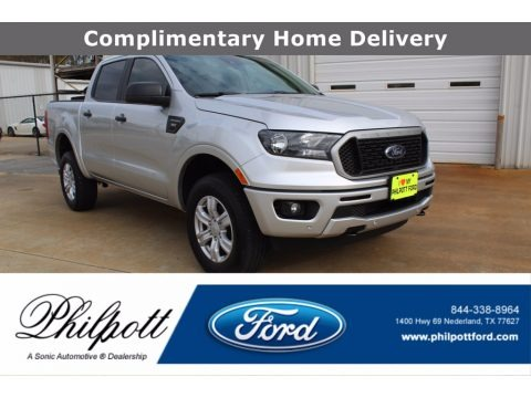 Ingot Silver Metallic 2019 Ford Ranger XLT SuperCrew 4x4