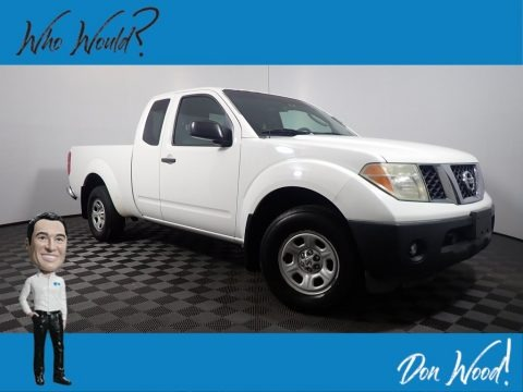 Avalanche White 2006 Nissan Frontier XE King Cab