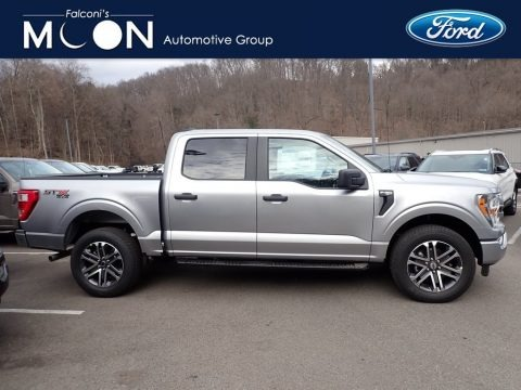 Iconic Silver 2021 Ford F150 STX SuperCrew 4x4