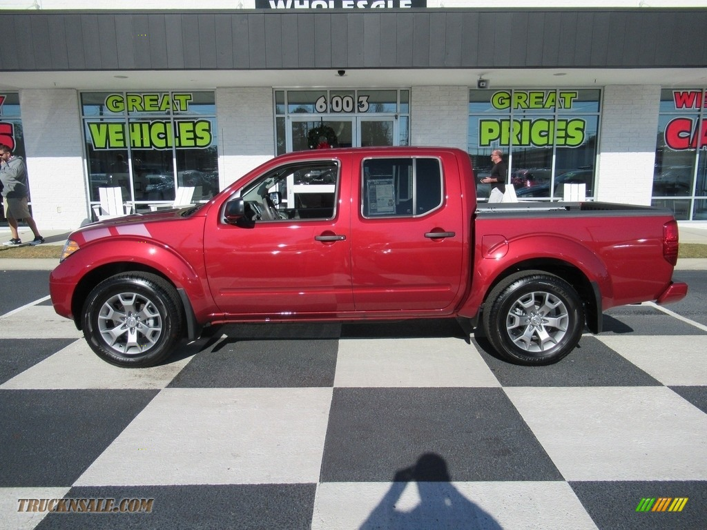 2020 Frontier SV Crew Cab 4x4 - Cayenne Red Metallic / Steel photo #1