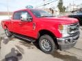 Ford F250 Super Duty XLT Crew Cab 4x4 Race Red photo #7