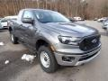 Ford Ranger XL SuperCab 4x4 Carbonized Gray Metallic photo #3