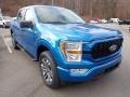Ford F150 STX SuperCrew 4x4 Velocity Blue photo #3