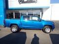 Chevrolet Colorado LT Crew Cab 4x4 Bright Blue Metallic photo #3