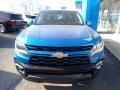 Chevrolet Colorado LT Crew Cab 4x4 Bright Blue Metallic photo #8