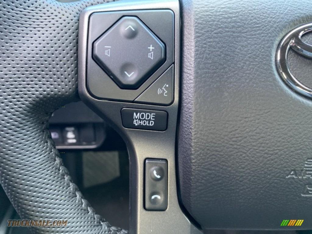 2021 Tacoma TRD Sport Double Cab 4x4 - Silver Sky Metallic / TRD Cement/Black photo #6