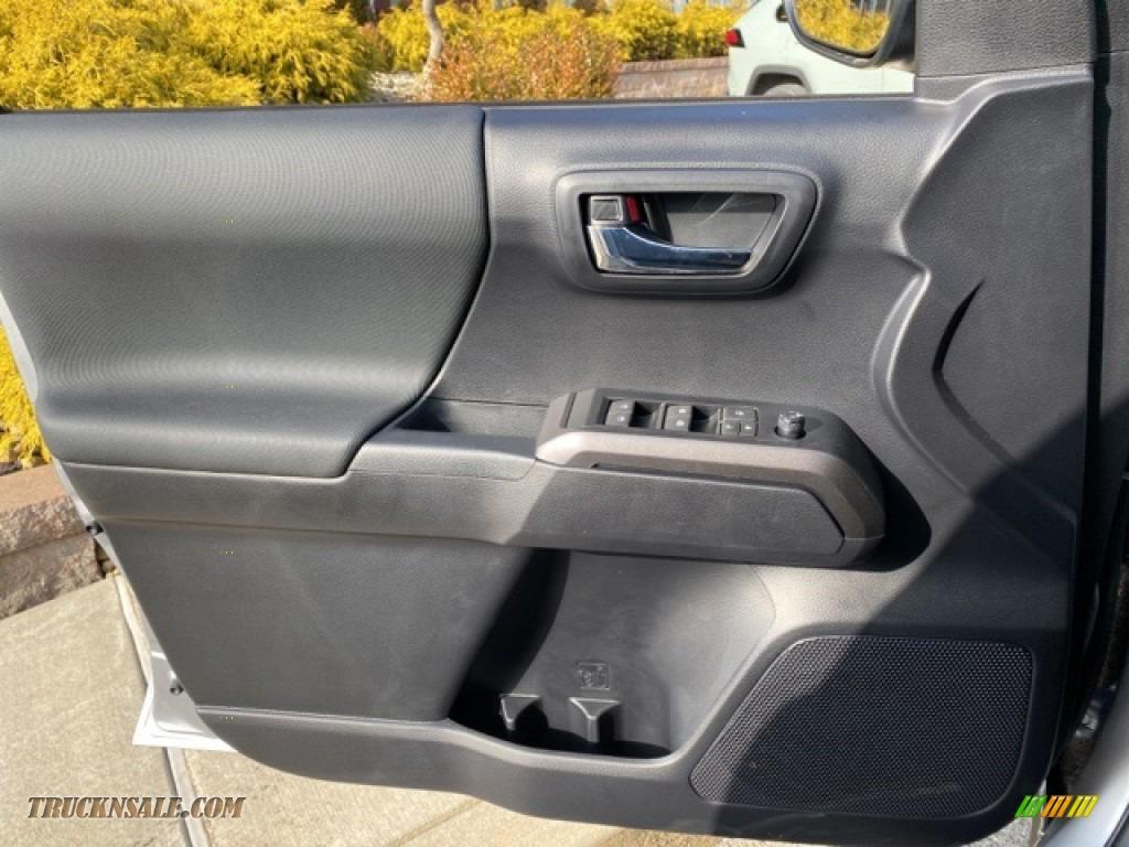 2021 Tacoma TRD Sport Double Cab 4x4 - Silver Sky Metallic / TRD Cement/Black photo #20