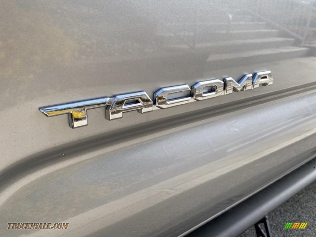 2021 Tacoma TRD Sport Double Cab 4x4 - Silver Sky Metallic / TRD Cement/Black photo #25
