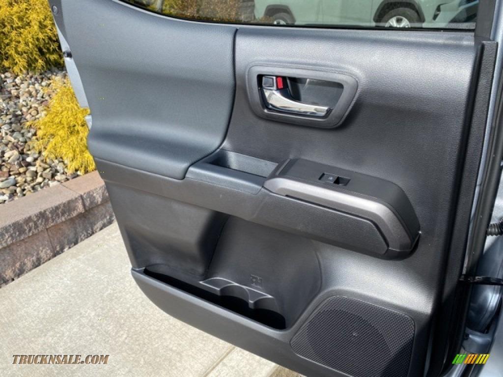 2021 Tacoma TRD Sport Double Cab 4x4 - Silver Sky Metallic / TRD Cement/Black photo #29