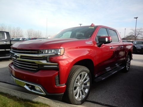 Cherry Red Tintcoat 2021 Chevrolet Silverado 1500 High Country Crew Cab 4x4