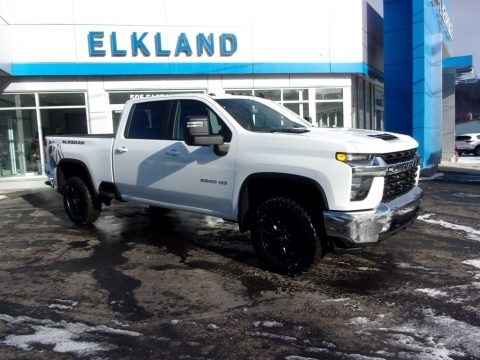 Summit White 2021 Chevrolet Silverado 2500HD LT Crew Cab 4x4