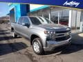 Chevrolet Silverado 1500 LT Crew Cab 4x4 Satin Steel Metallic photo #1