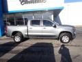 Chevrolet Silverado 1500 LT Crew Cab 4x4 Satin Steel Metallic photo #3