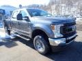 Ford F250 Super Duty XL Crew Cab 4x4 Carbonized Gray photo #2