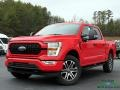 Ford F150 STX SuperCrew 4x4 Race Red photo #1