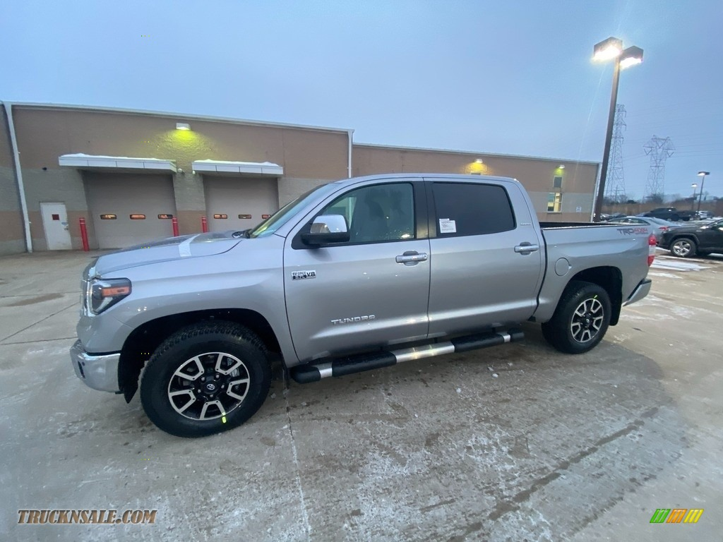 Silver Sky Metallic / Graphite Toyota Tundra Limited CrewMax 4x4