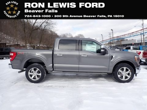 Carbonized Gray 2021 Ford F150 Lariat SuperCrew 4x4