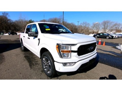 Oxford White 2021 Ford F150 STX SuperCrew 4x4