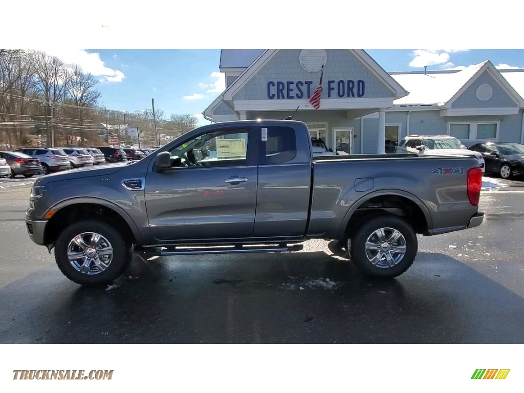 2021 Ranger XLT SuperCab 4x4 - Carbonized Gray Metallic / Ebony photo #4