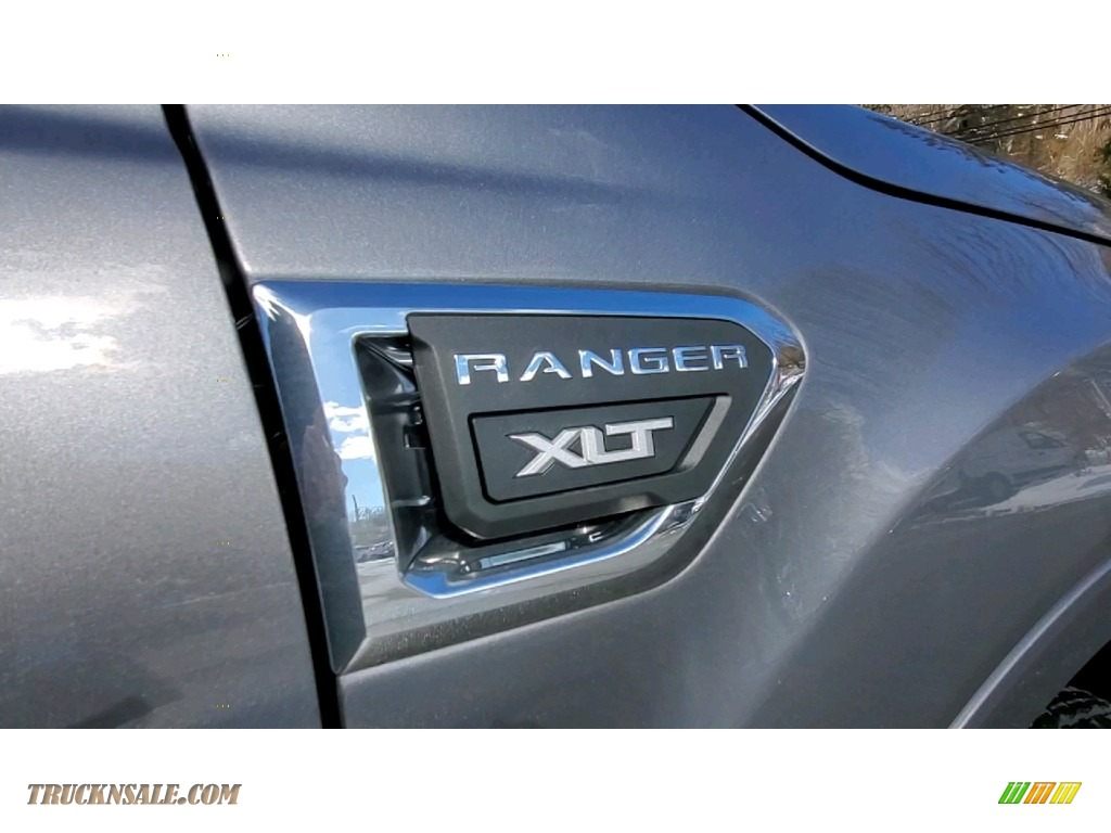 2021 Ranger XLT SuperCab 4x4 - Carbonized Gray Metallic / Ebony photo #25