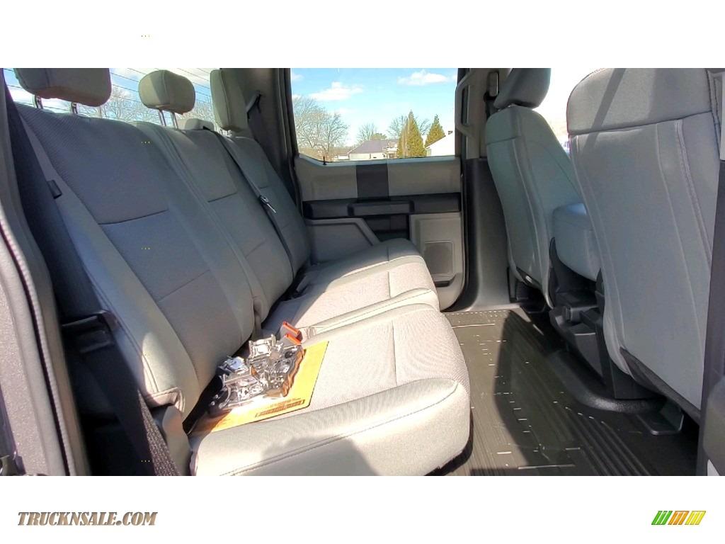 2021 F250 Super Duty XL Crew Cab 4x4 - Carbonized Gray / Medium Earth Gray photo #22