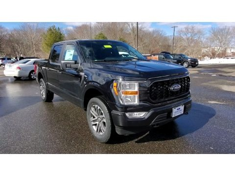 Agate Black 2021 Ford F150 STX SuperCrew 4x4