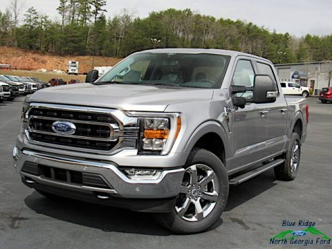 Iconic Silver 2021 Ford F150 XLT SuperCrew 4x4