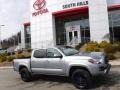 Toyota Tacoma SR5 Double Cab 4x4 Silver Sky Metallic photo #2