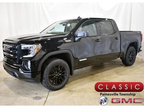 Onyx Black 2021 GMC Sierra 1500 Elevation Crew Cab 4WD