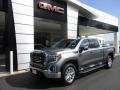 GMC Sierra 1500 SLT Crew Cab 4WD Satin Steel Metallic photo #1