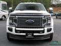 Ford F450 Super Duty Platinum Crew Cab 4x4 Star White Metallic photo #8