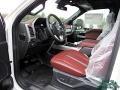 Ford F450 Super Duty Platinum Crew Cab 4x4 Star White Metallic photo #11