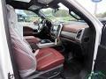 Ford F450 Super Duty Platinum Crew Cab 4x4 Star White Metallic photo #13