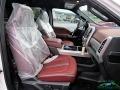 Ford F450 Super Duty Platinum Crew Cab 4x4 Star White Metallic photo #14