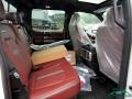 Ford F450 Super Duty Platinum Crew Cab 4x4 Star White Metallic photo #15