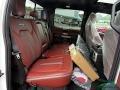 Ford F450 Super Duty Platinum Crew Cab 4x4 Star White Metallic photo #16